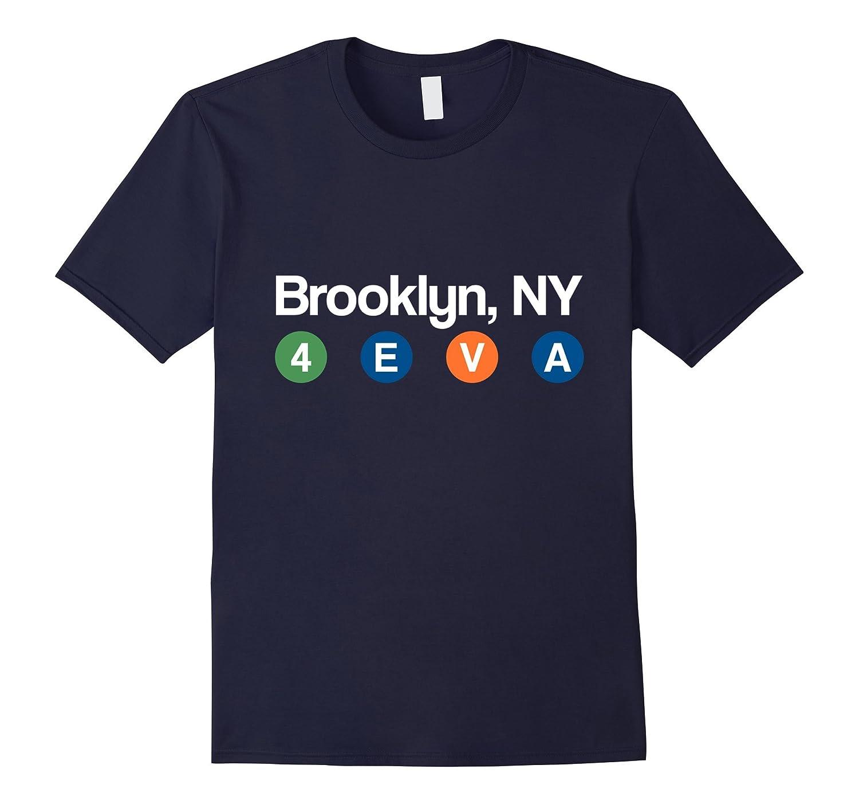 NYC Subway t Shirt Brooklyn Men  Women Tee-TD