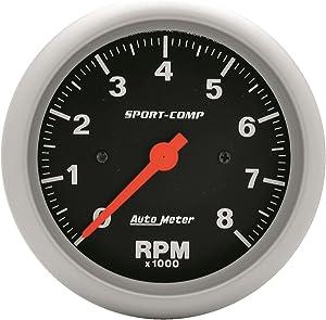 Auto Meter 3991 Sport-Comp In-Dash Electric Tachometer