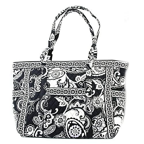 7cff768b95 Image Unavailable. Image not available for. Color  Vera Bradley Get Carried  Away Tote Midnight Paisley