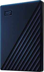 WD 2TB My Passport for Mac Portable External Hard Drive - Blue, USB-C/USB-A - WDBA2D0020BBL-WESN