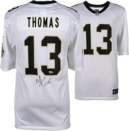 728e5dcc940 Michael Thomas New Orleans Saints Autographed White Nike Game Jersey -  Fanatics Authentic Certified - Autographed