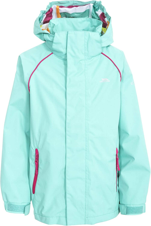 Trespass Childrens Girls Lunaria Waterproof Jacket