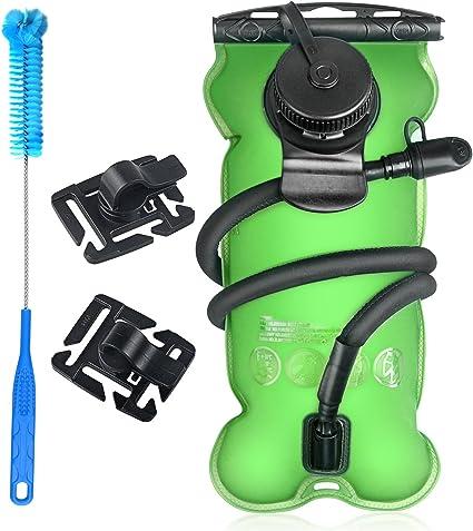 bolsa de hidrataci/ón sin BPA 2 litros bolsa de almacenamiento de agua militar Bolsa de almacenamiento de agua a prueba de fugas
