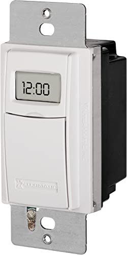 Intermatic ST01 7 Day Programmable In-Wall Digital Timer Switch