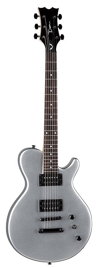 Dean EVO XM Guitarra Eléctrica Plata Metalizado: Amazon.es ...