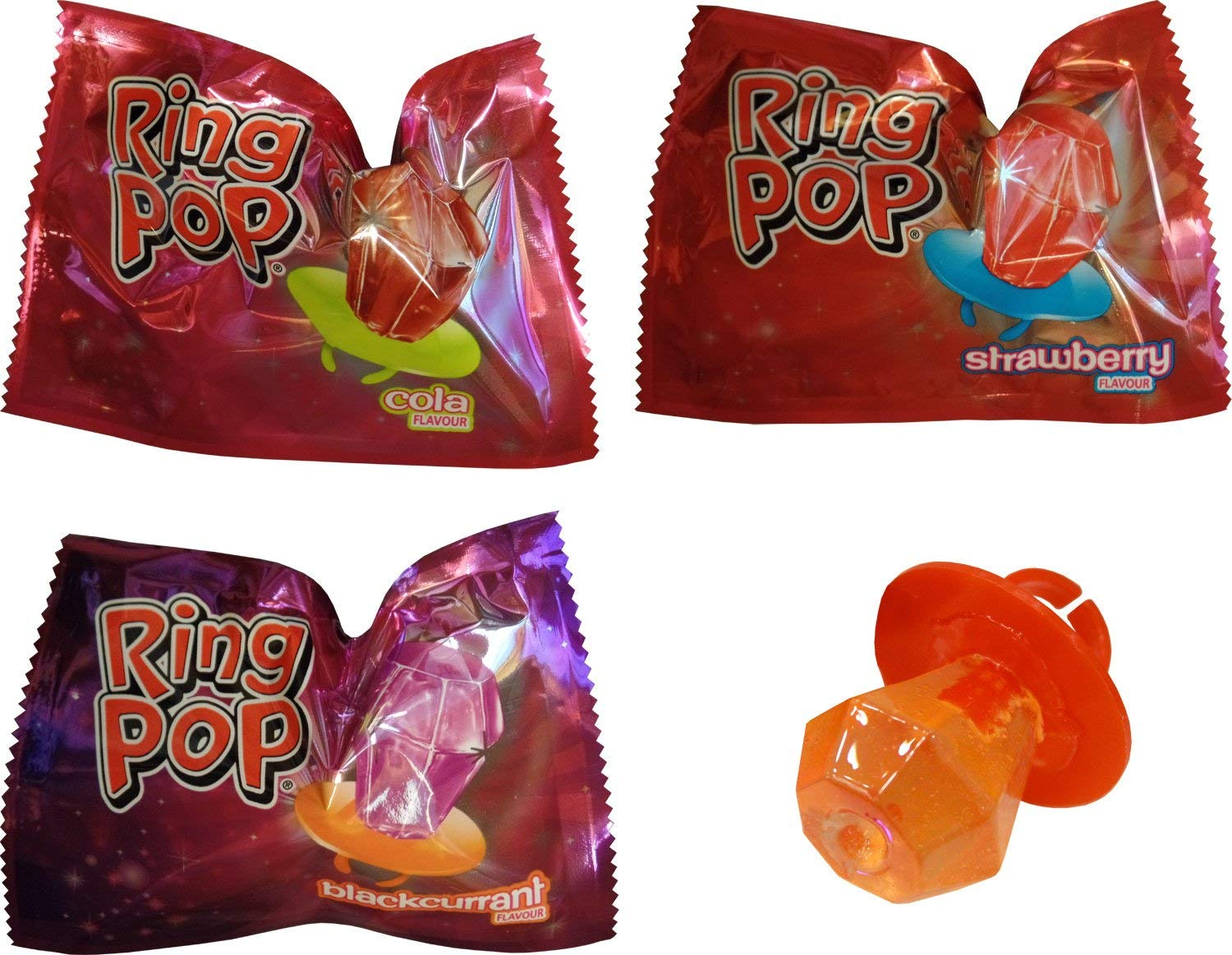 Ring Pops (6 Supplied)