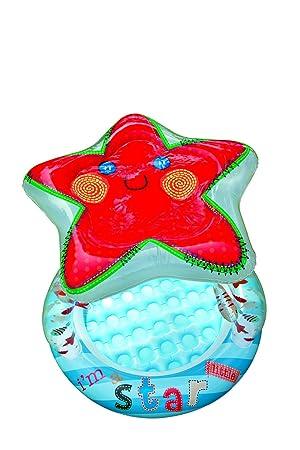 Intex 57428- Piscina para bebé hinchable con diseño de estrella, 102 x 86 cm