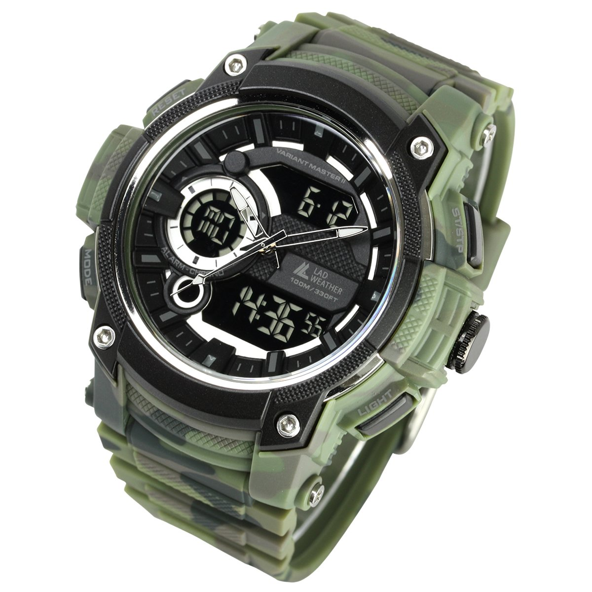 [LAD WEATHER] Triple time/ Military/Camouflage/Outdoor/Men's Watch by LAD WEATHER