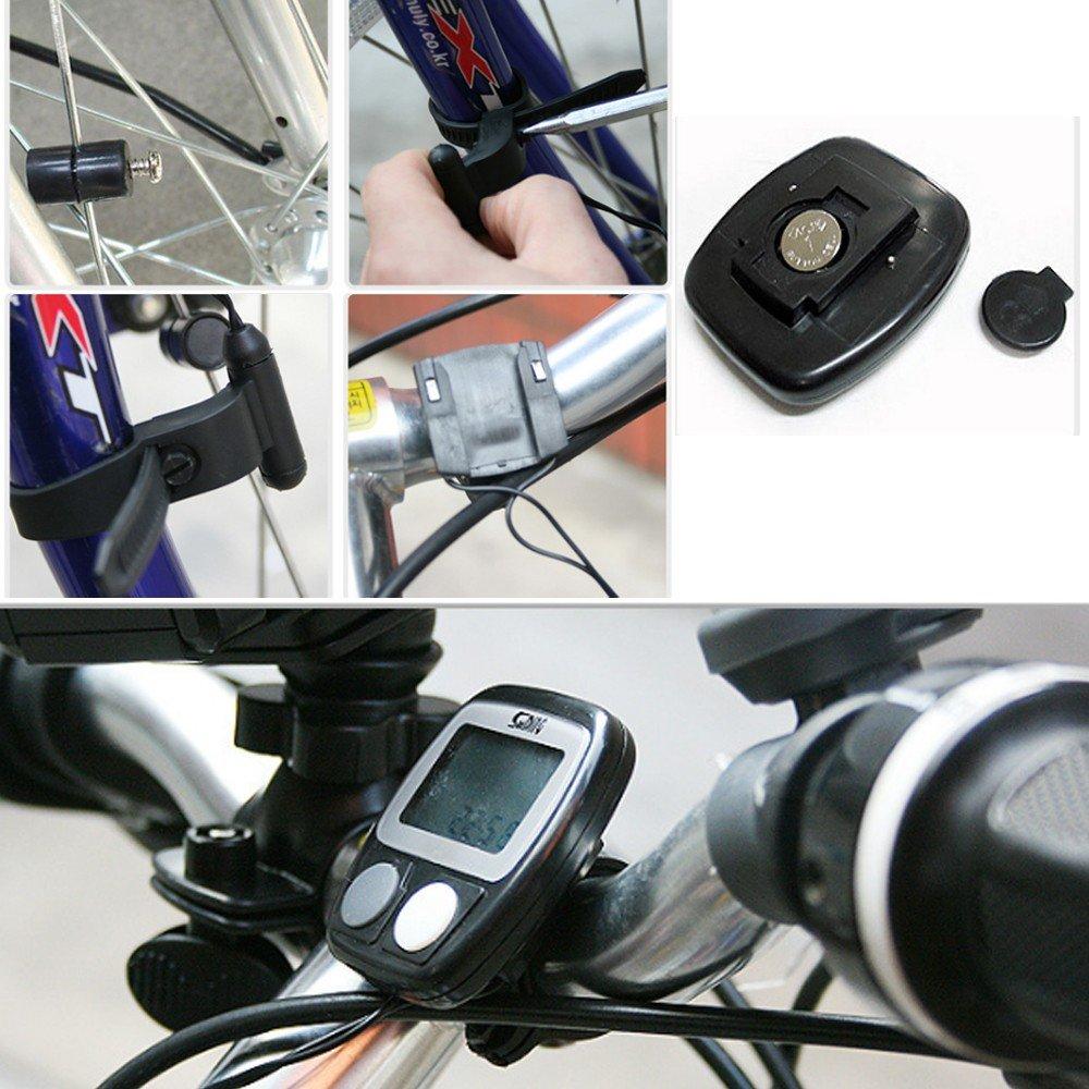 Cateye Ieasycan/sin cables para cable Digital para ciclismo de ...