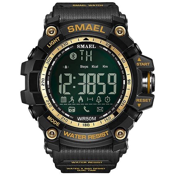 Daesar Relojes Bluetooth Hombre Reloj Inteligente Reloj ...