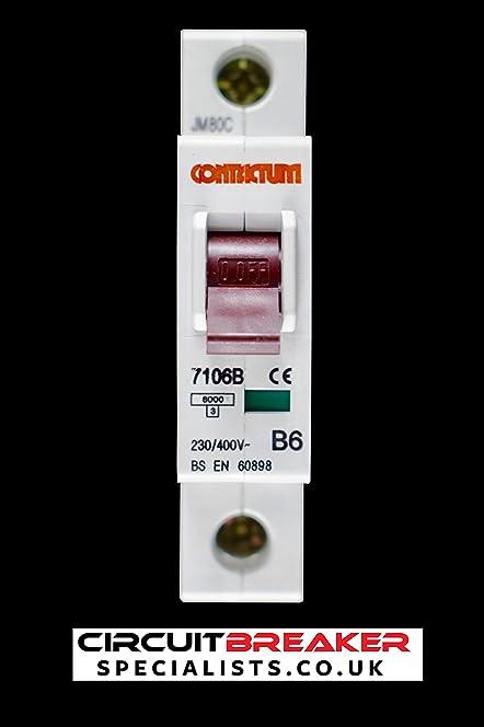 71Ln c28qXL._SY664_ contactum b 6 amp mcb circuit breaker 7106b a amazon co uk contact fusebox elavon at bakdesigns.co