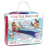 Snug Rug, Meerjungfrauen-Schwanz / Fleece-Decke, Regenbogen-Design, extrem weich