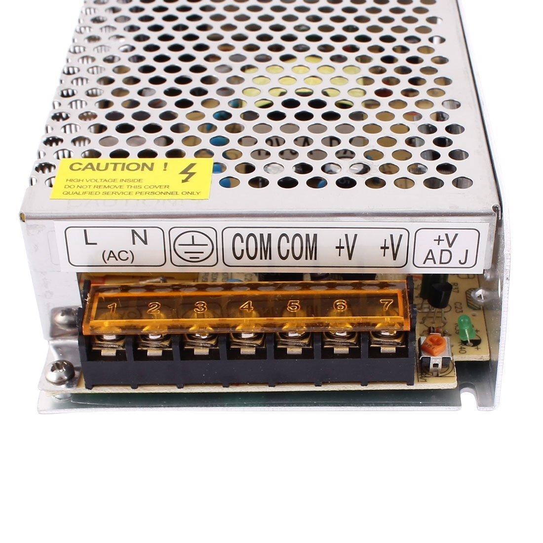 Redrex DC 12V 5A Universal Regul/ó la Unidad de Potencia Adaptador Transformador Para LED Luces de Tira CCTV Sistema de Seguridad Inform/ática del Proyecto