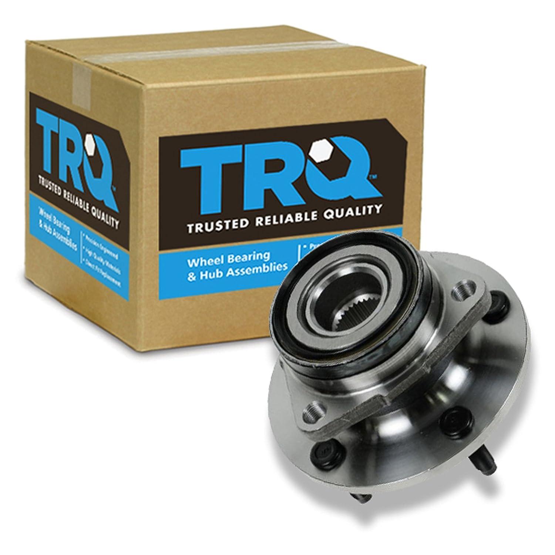 TRQ Front Wheel Hub /& Bearing for 94-99 Dodge Ram 1500 Pickup Truck 4x4 4WD