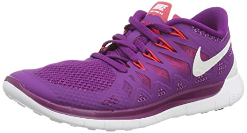 Nike Wmns Free 5.0 Women (642199-501), Bright purple/White/