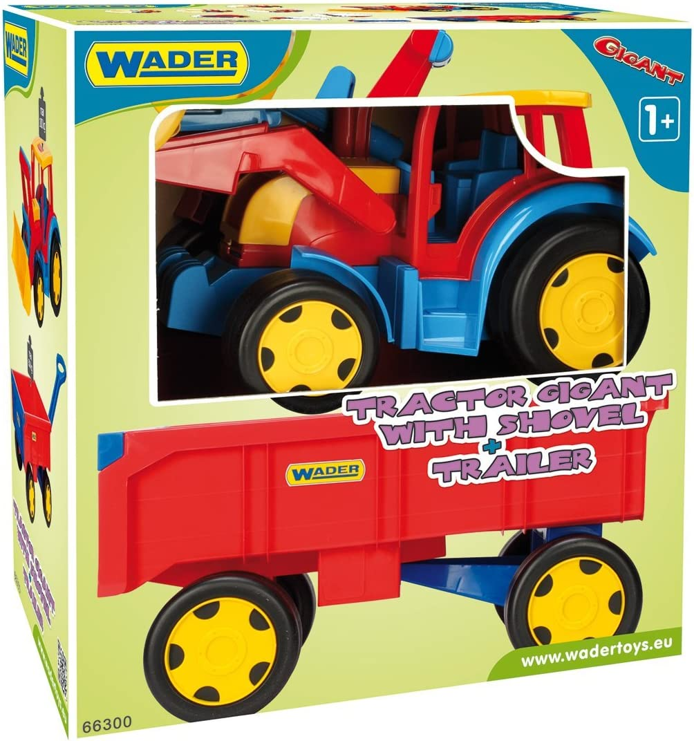 Wader Giant Tractor with Trailor and Shovel