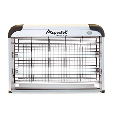 Aspectek Powerful 20W Electronic Indoor Insect Killer, Bug Zapper