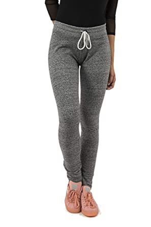 Sweet Pants Jogging Heather Skinny Gris  Amazon.fr  Vêtements et ... e9d96fa336f