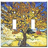 Art Plates - Van Gogh: Mulberry Tree Switch Plate - Double Toggle