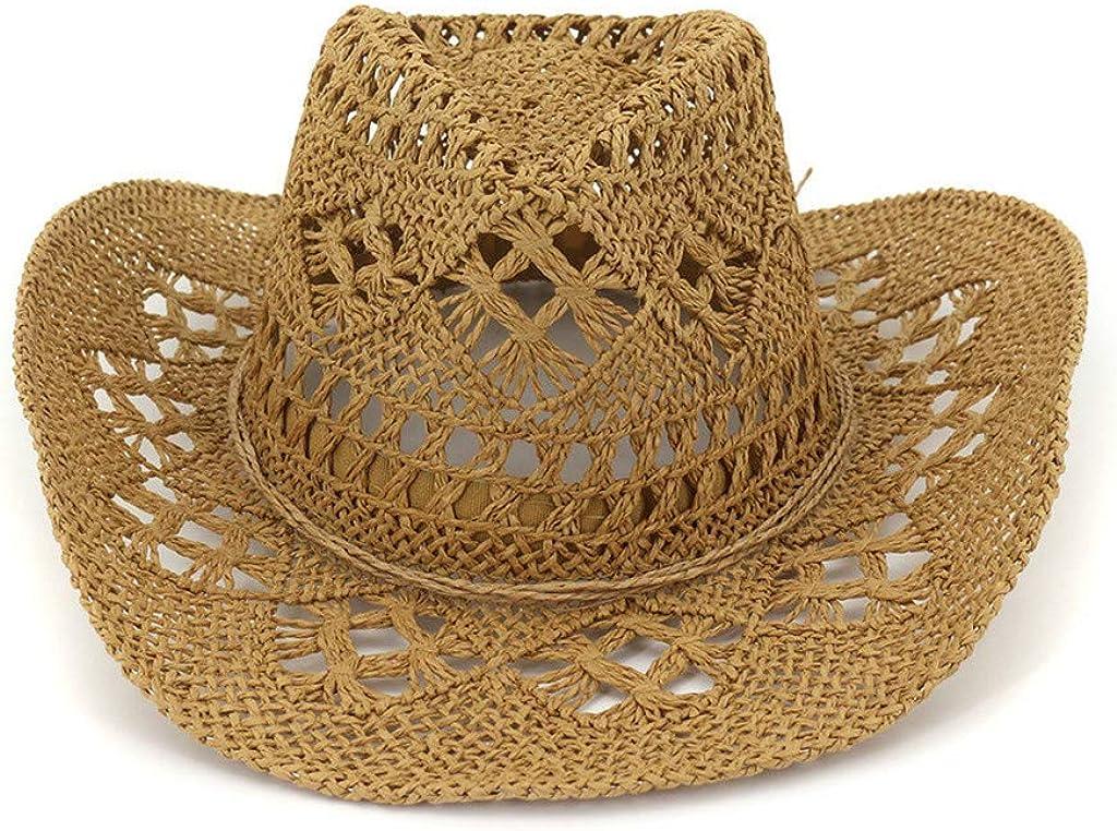 Sun Hats Floppy Foldable Large Wide Brim Straw Womens Hats Summer Beach Cap UV Protection Hat Boonie Hat Hiking Hat Fishing Hat Bush Hat Trekking Hat