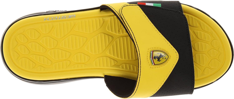 Amazon Com Puma Men S Ferrari Slip In Sandal Sport Sandals Slides