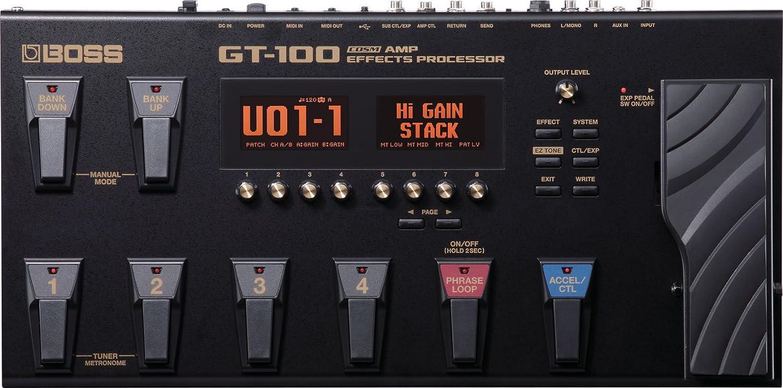BOSS GT-100 - Pedal multiefectos de guitarra