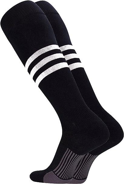 Baseball Softball Stirrups Socks with Stripes Various Colors