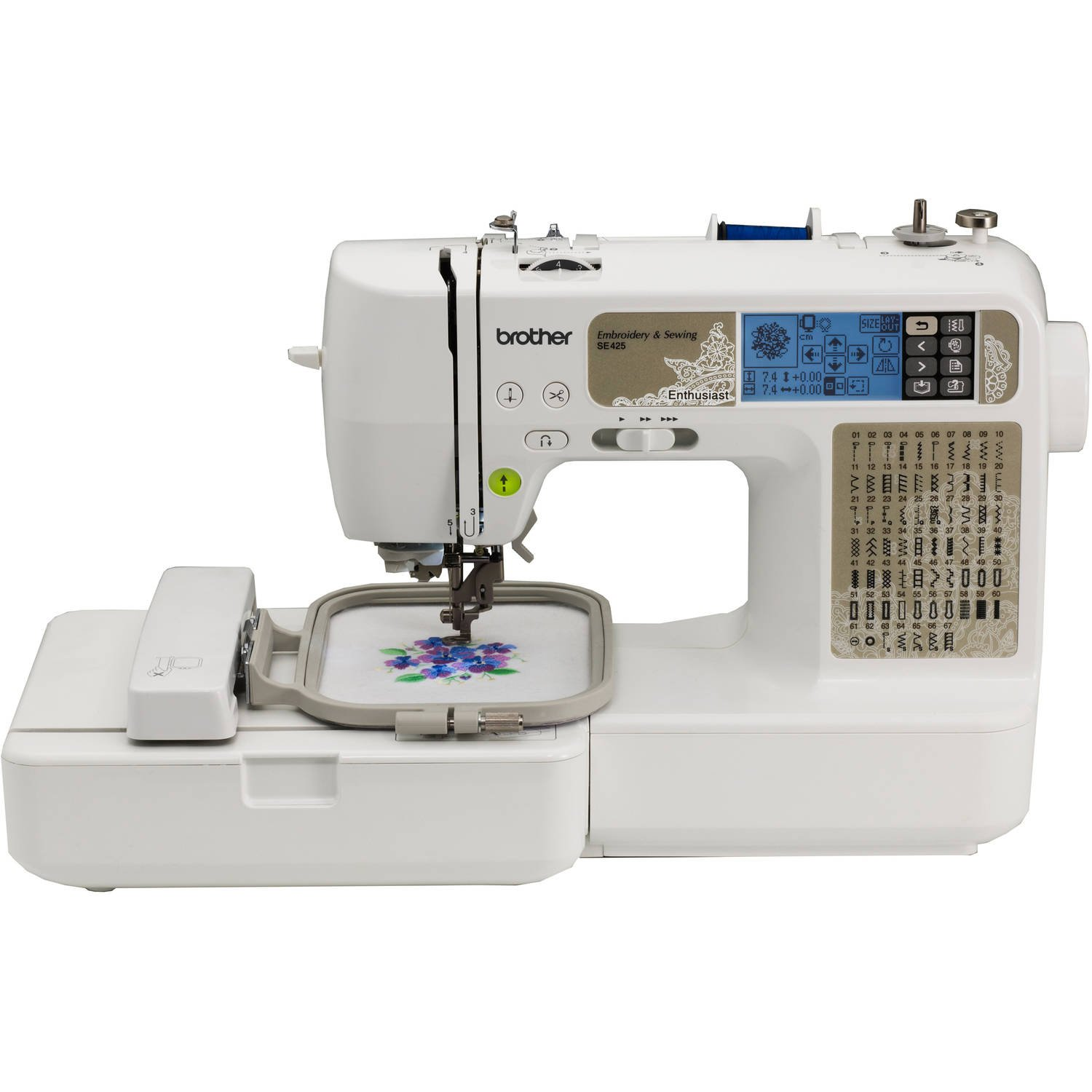 Amazon.com: Brother Sewing and Embroidery Machine, 67 Built-In Stitches  Model SE425