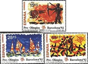 Prophila Collection España Michel.-No..: 3030-3032 (Completa.edición.) 1992 Juegos olímpicos Barcelona 92 (Sellos para los coleccionistas) Juegos Olímpicos: Amazon.es: Juguetes y juegos