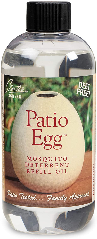 Scent Shop 90602 Skeeter Screen Patio Egg Mosquito Deterrent Refill Oil, 8 Ounces, 1