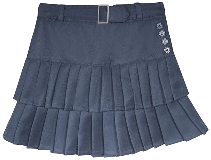 95c52981bb Beverly Hills Polo Club Girls School Uniform Belted Low Pleat Scooter,  Navy, Size 10