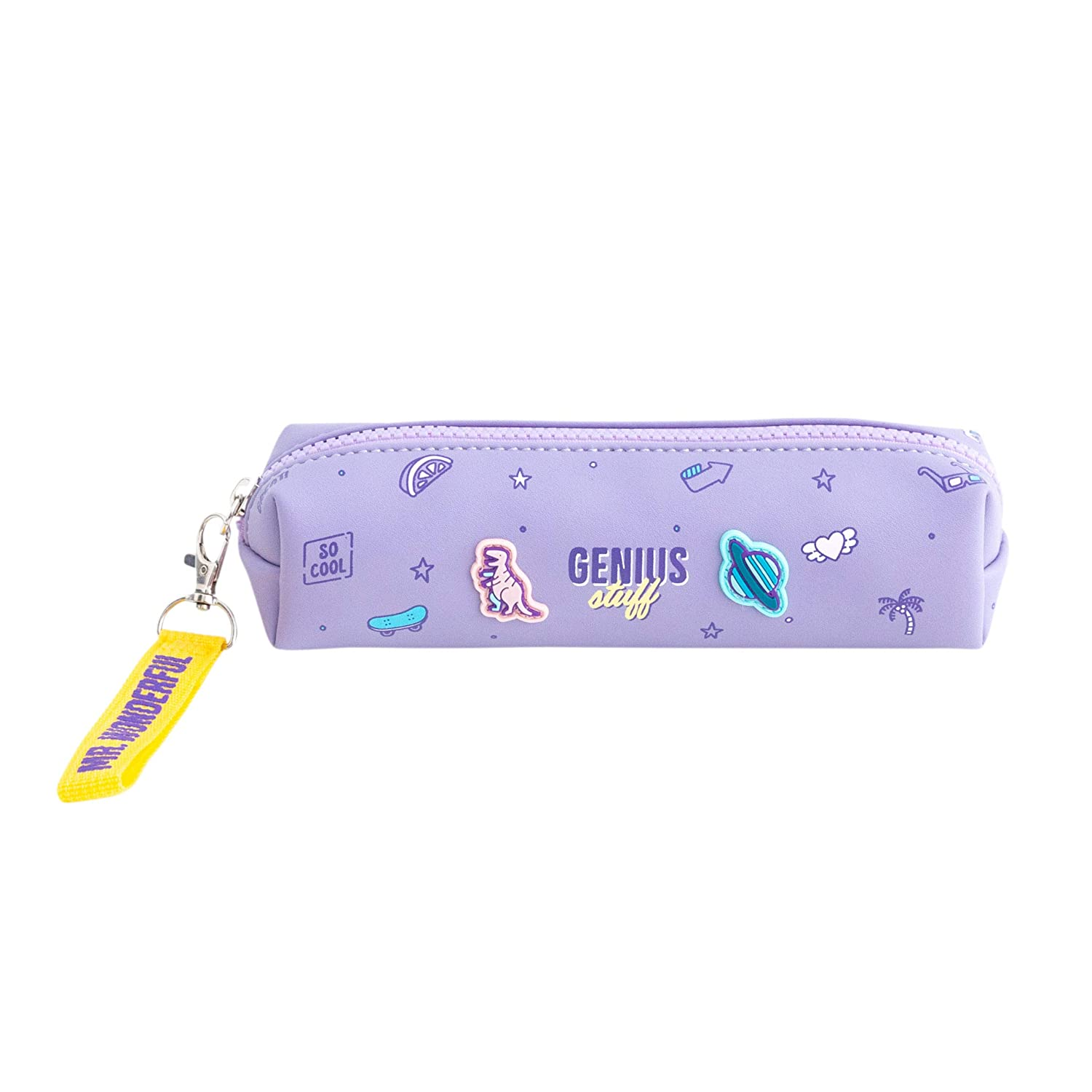 Mr. Wonderful Pencil Case-Genius Stuff, Multicolor, Talla Única ...