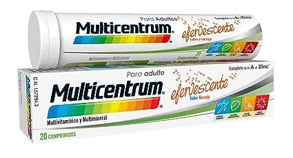Multicentrum Adulto Complemento Alimenticio con 13 Vitaminas, 11 Minerales y Único Con Luteína, Con Vitamina B1, Vitamina B6, Vitamina B12, Hierro, ...