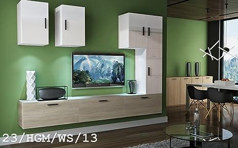 Futura set mobili da salotto moderno mobile a parete tv