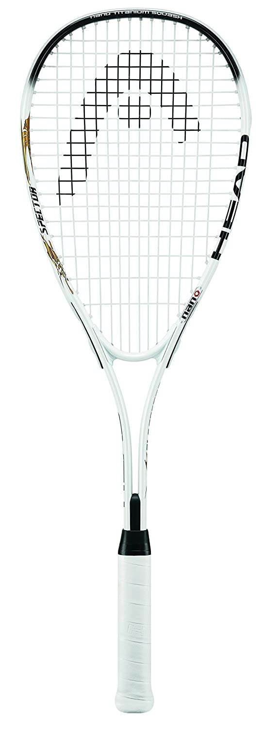HEAD Nano Ti Spector 2.0 Squash Racket - Black/White