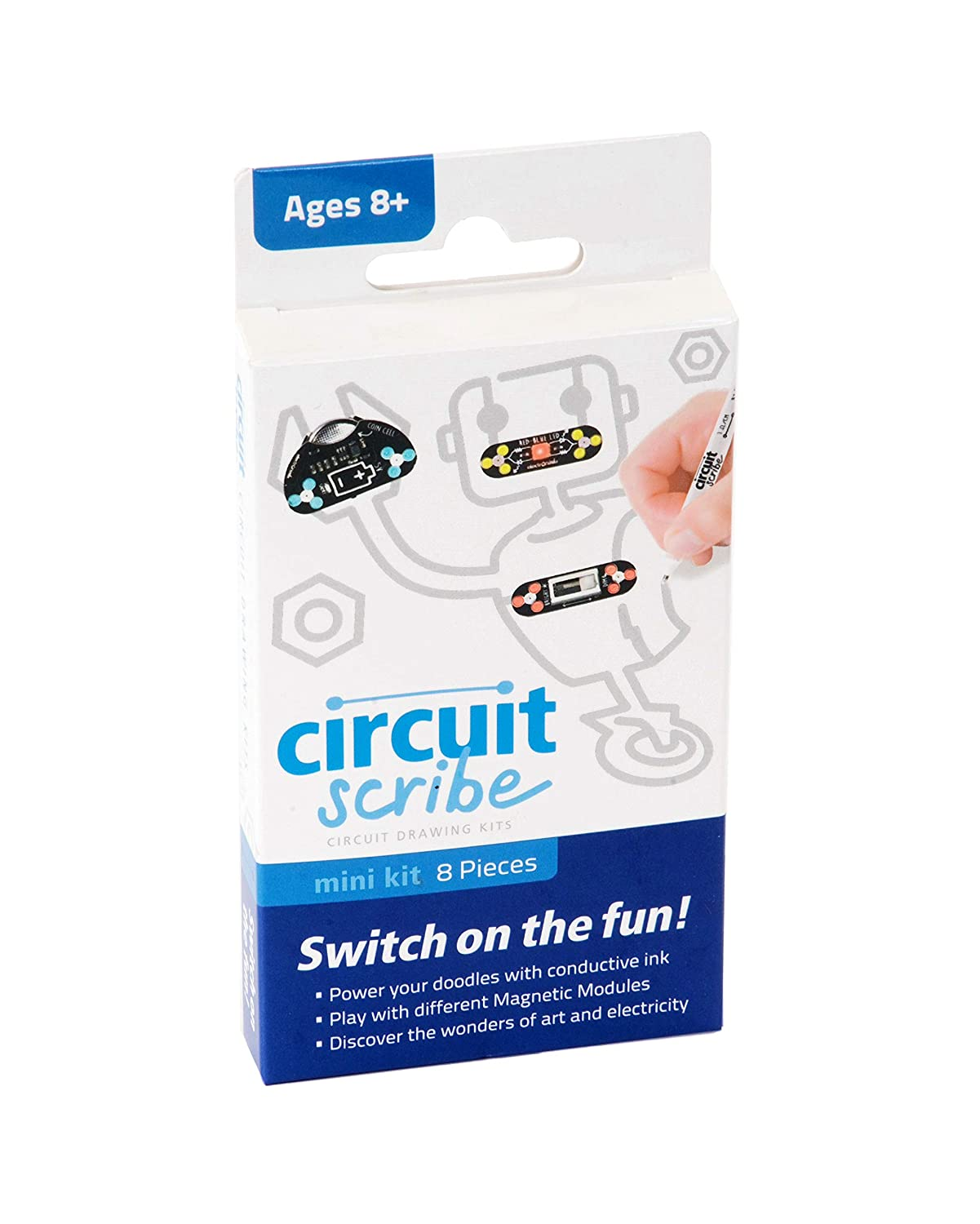 Circuit Scribe Mini Kit Create Your Own Circuits Power Of Led Energy Saving Lamp Basiccircuit Instantly Includes Everything You Need To Learn And Explore Basic Circuitry With Hands On