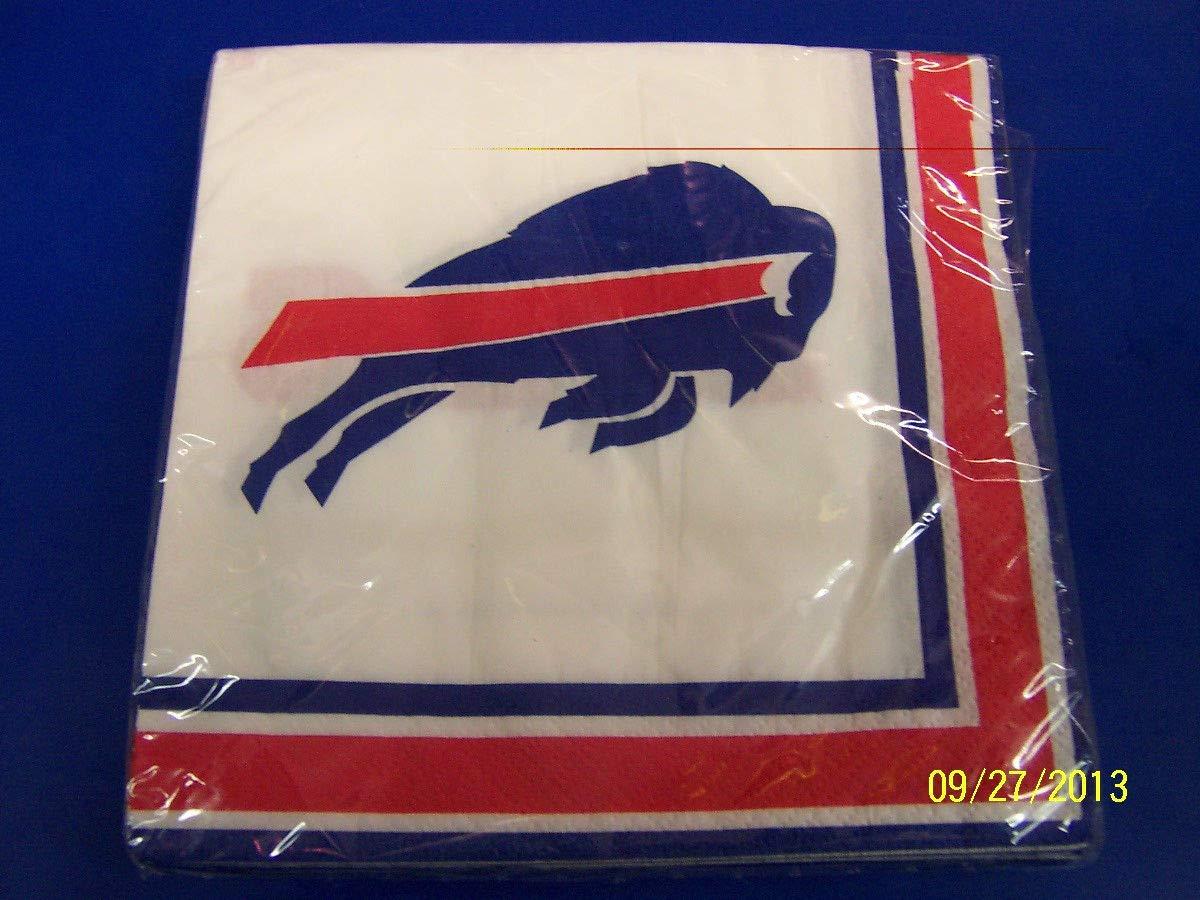 Buffalo Bills NFL Pro Football Sports Banquet Party Paper Luncheon Napkins