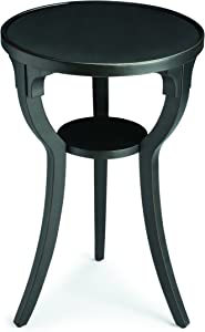 BUTLER DALTON BLACK LICORICE ROUND ACCENT TABLE