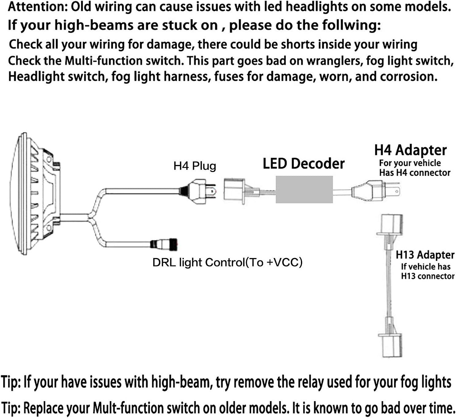 Fog Light Wiring Diagram For Truck