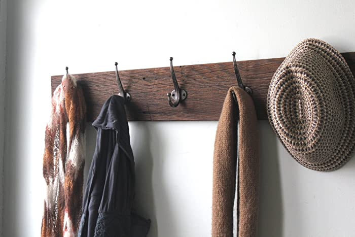 "Reclaimed Barn Wood Coat Rack 36"" - Amazon.com: Reclaimed Barn Wood Coat Rack 36"