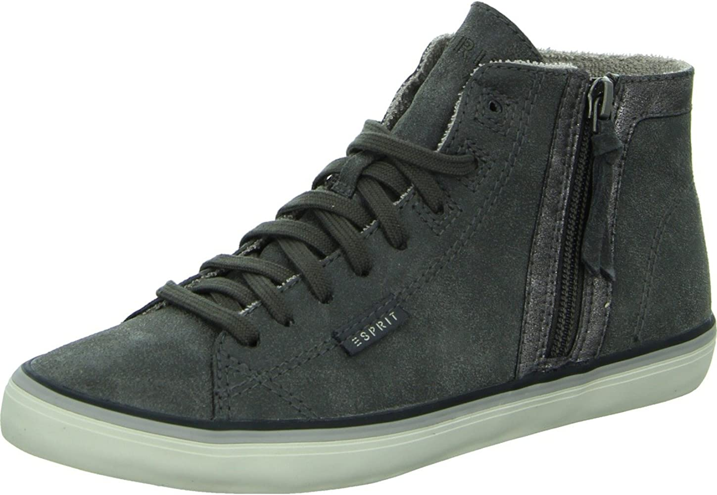 in stock quality super specials ESPRIT Women's Venus Zip Low-Top Sneakers Grey Size: 37 EU ...