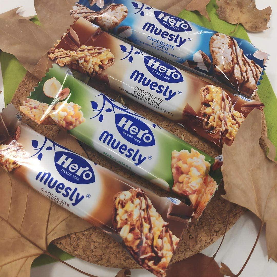 Hero - Barrita de cereales con coco y chocolate con leche, 6x 150 gr - Pack de 5 (Total 750 grams): Amazon.es: Alimentación y bebidas
