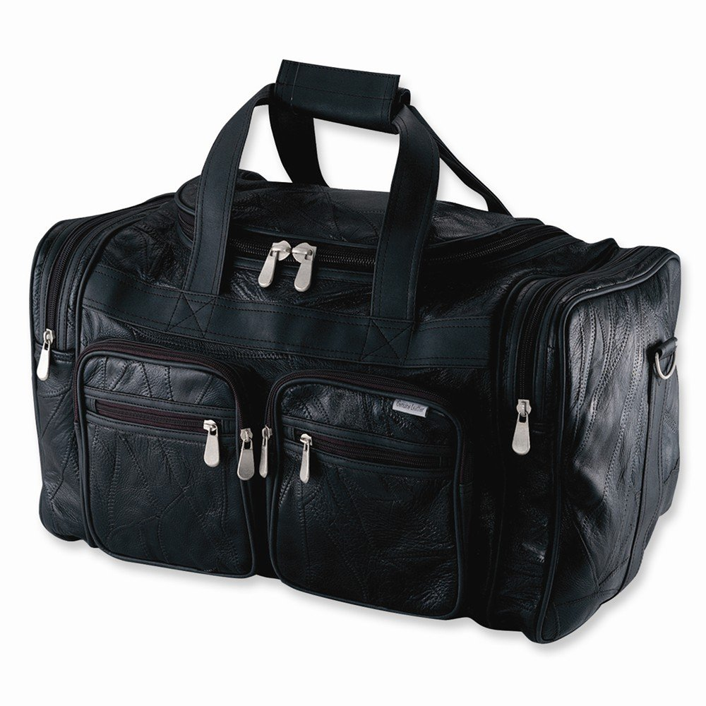 Embassy Leather 23 Tote Bag BLK
