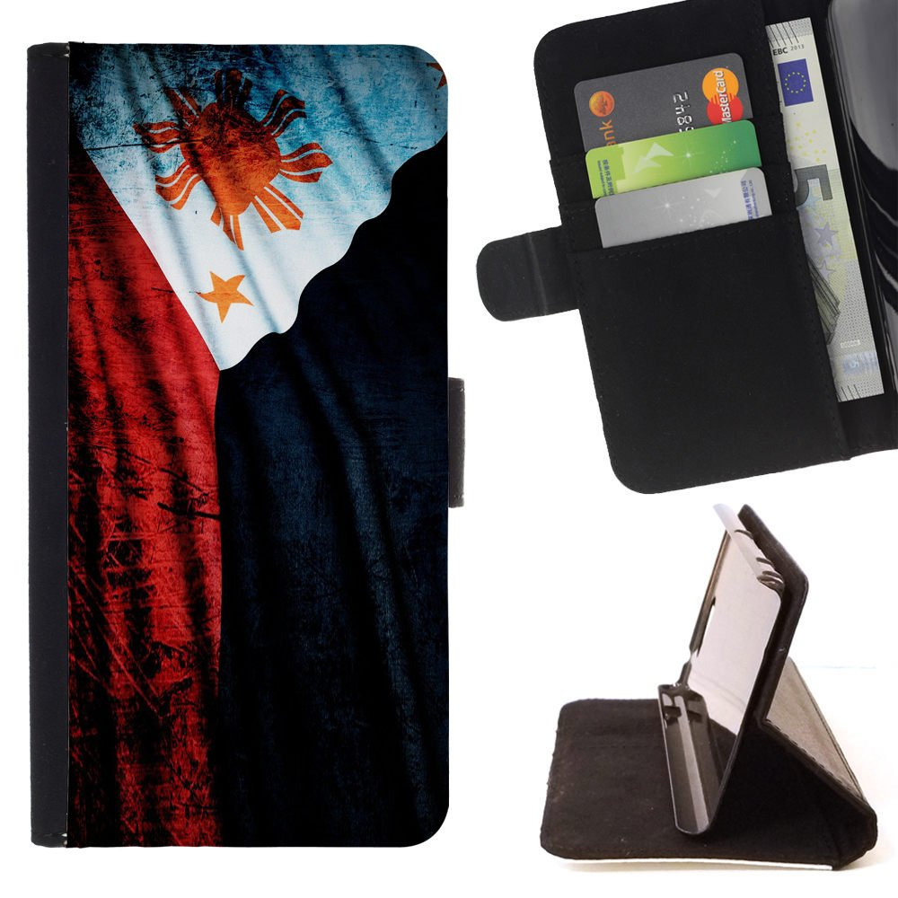 FJCases Filipinas Filipino Bandera Carcasa Funda Billetera con ...