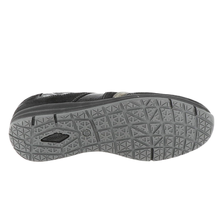 TOPIE Sneaker en Cuir Confortable avec Fermeture Facile