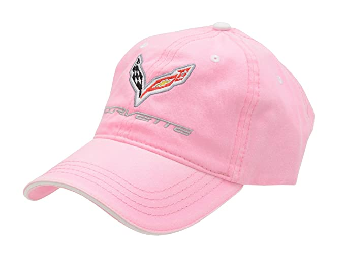 Amazon.com  Corvette C7 Pink Hat  Clothing f149e58cd54