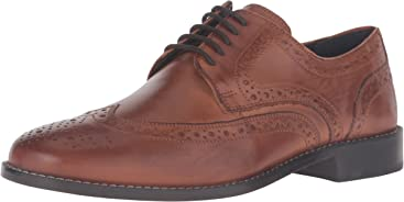 Nunn Bush Mens Nelson Wingtip Oxford
