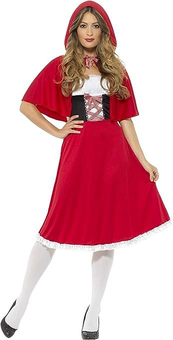Smiffys Smiffys-44686X1 Disfraz de Caperucita Roja, con Vestido ...