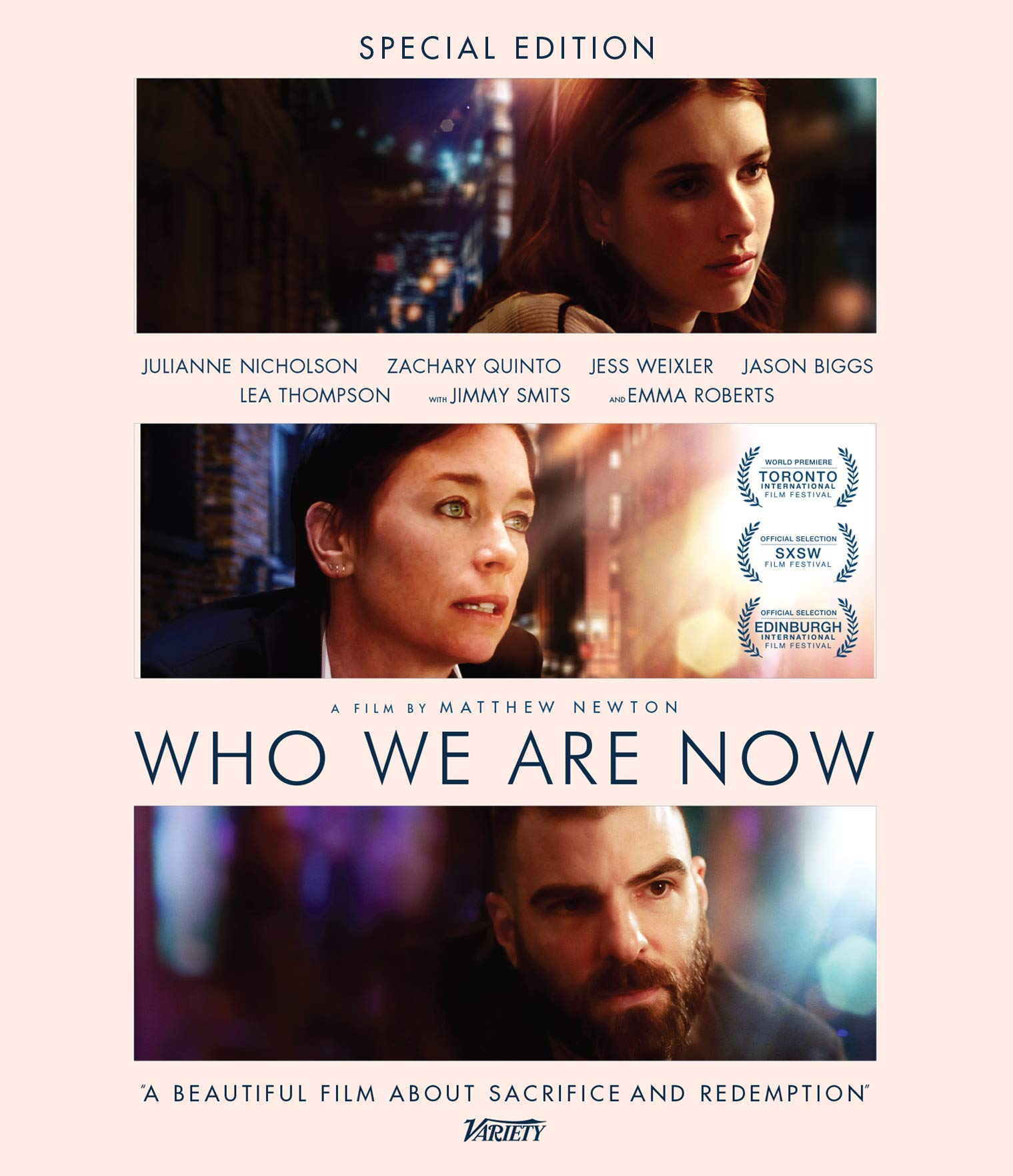 Blu-ray : Who We Are Now (Special Edition)