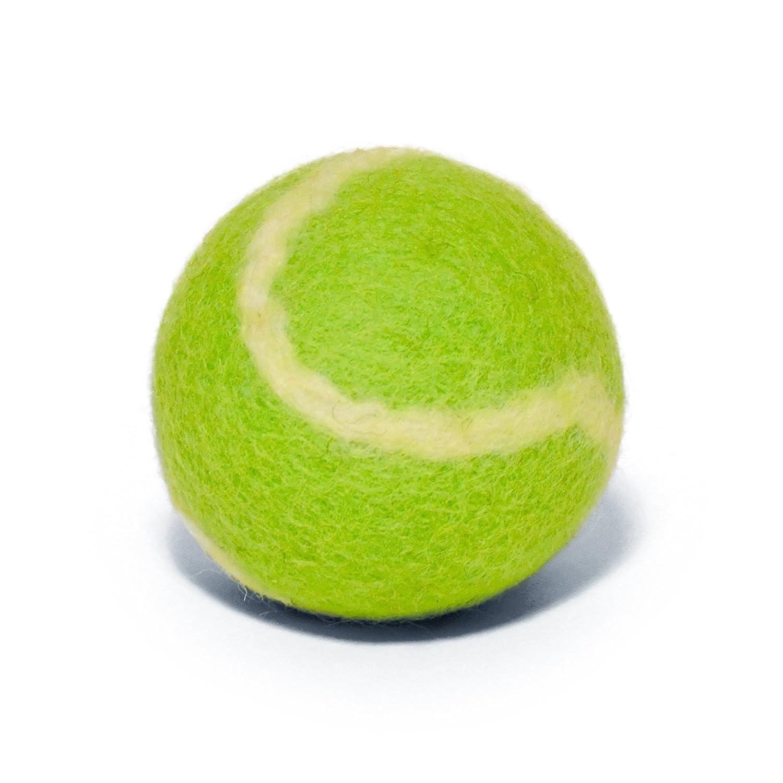 pet supplies tenniswools all natural tennis balls for dogs  pet supplies tenniswools all natural tennis balls for dogs 3 pack 100% merino wool yellow green com